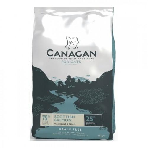 Canagan Grain Free for Cats, Somon, 4 kg imagine