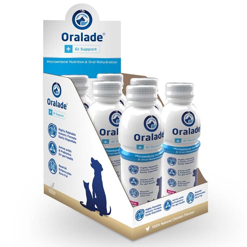 Oralade GI Gastro-Intestinal Support 500 ml x 6 imagine