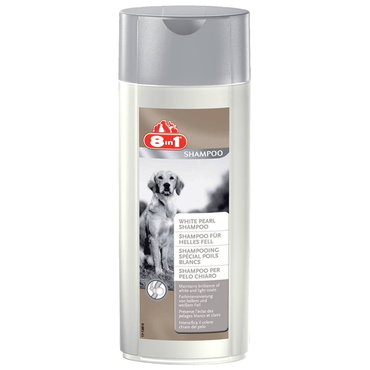 8 in 1 Sampon Caine White Pearl, 250 ml imagine