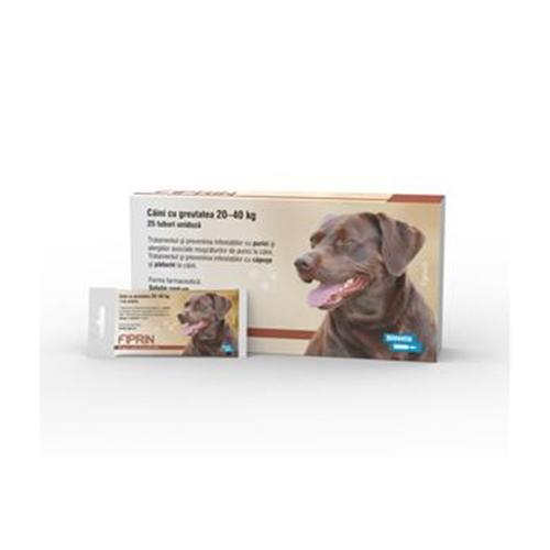 Solutie antiparazitara, Fiprin Spot Dog L, 25 x 2,68 ml imagine