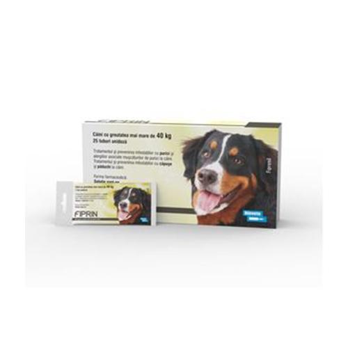 Solutie antiparazitara, Fiprin Spot Dog XL, 25 x 4,02 ml imagine