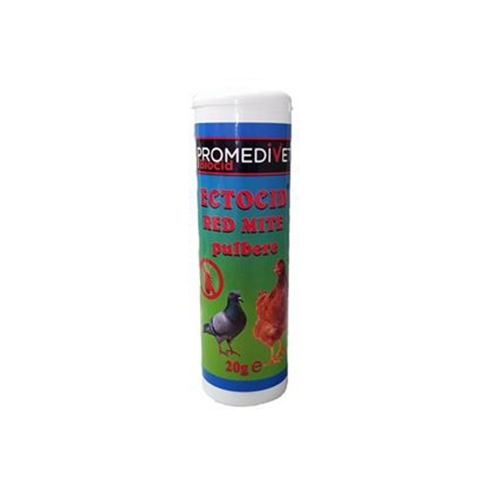 Ectocid Red Mite pulbere, 20 g imagine