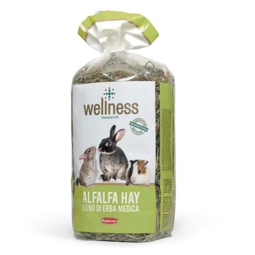 Fan rozatoare, Wellness Alfalfa Hay, 500 g imagine