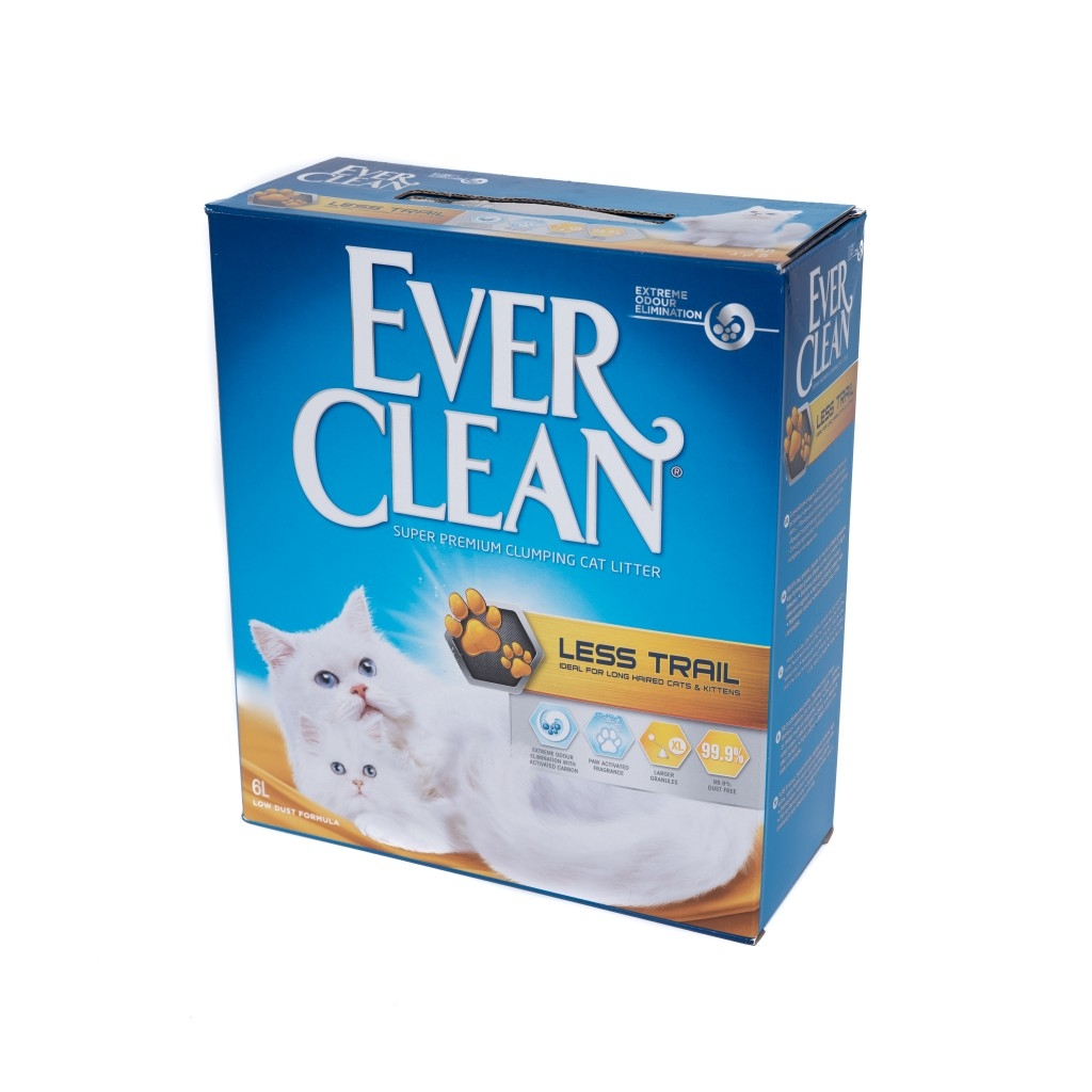 Nisip Litiera Ever Clean Less Trail, 6 l imagine
