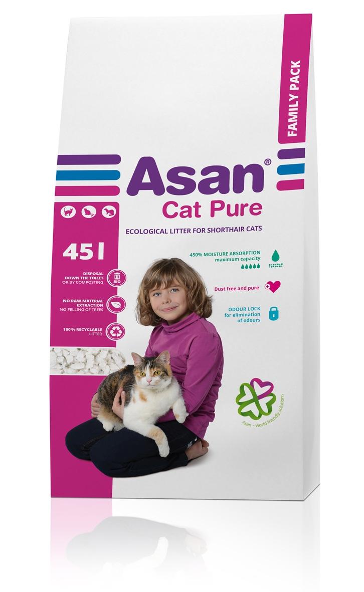 NISIP ASAN CAT PURE 45 L imagine