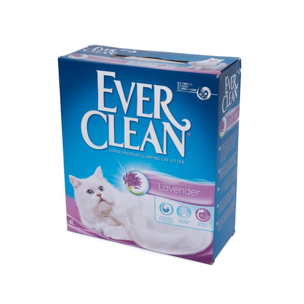 Nisip Igienic Ever Clean Lavender, 6 l imagine