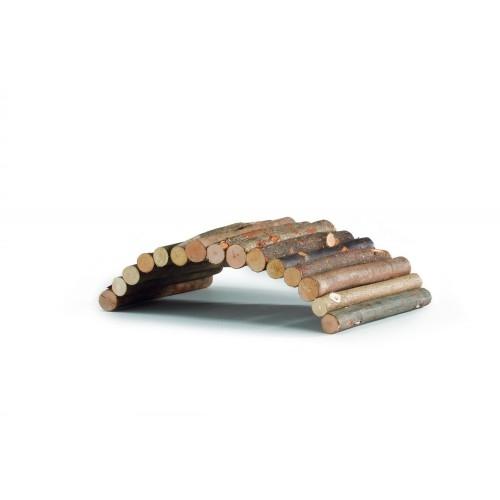 Pod de lemn pentru rozatoare, Beeztees, 28 cm imagine