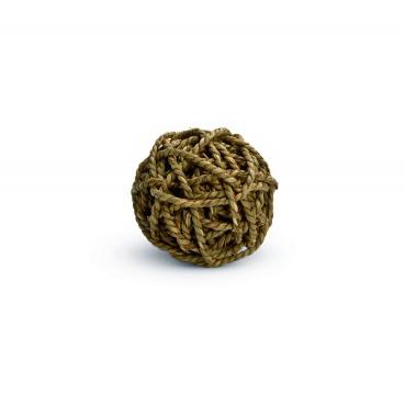 Jucarie minge impletita pentru rozatoare, Beeztees, 8 cm imagine