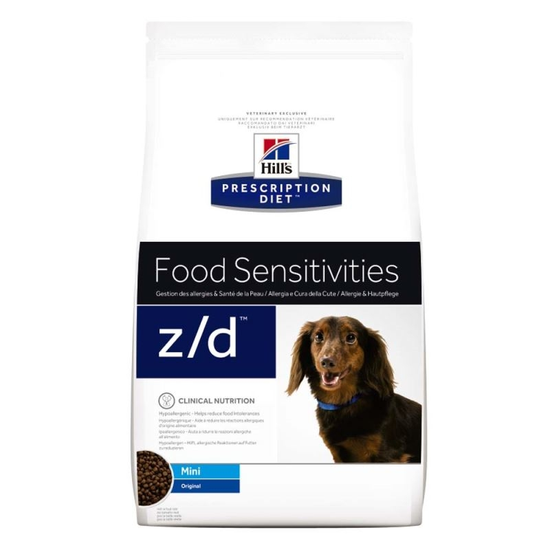 Hill's PD z/d Food Sensitivities Mini hrana pentru caini 1.5 kg imagine