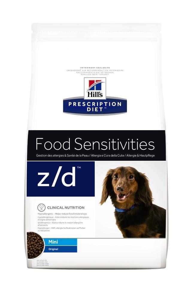 Hill's PD z/d Food Sensitivities Mini, 1.5 kg imagine
