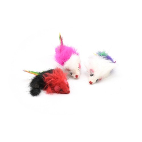 Jucarie pisici, 3 soricei, Muscat imagine