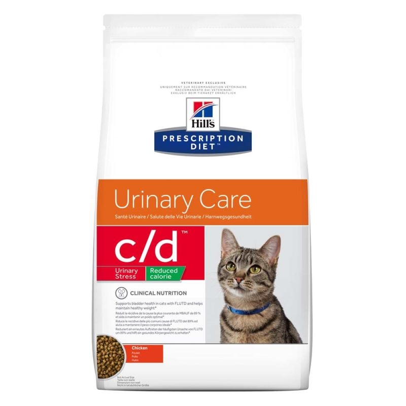 Hill's PD c/d Urinary Stress Reduced Calorie Urinary Care hrana pentru pisici 1.5 kg imagine