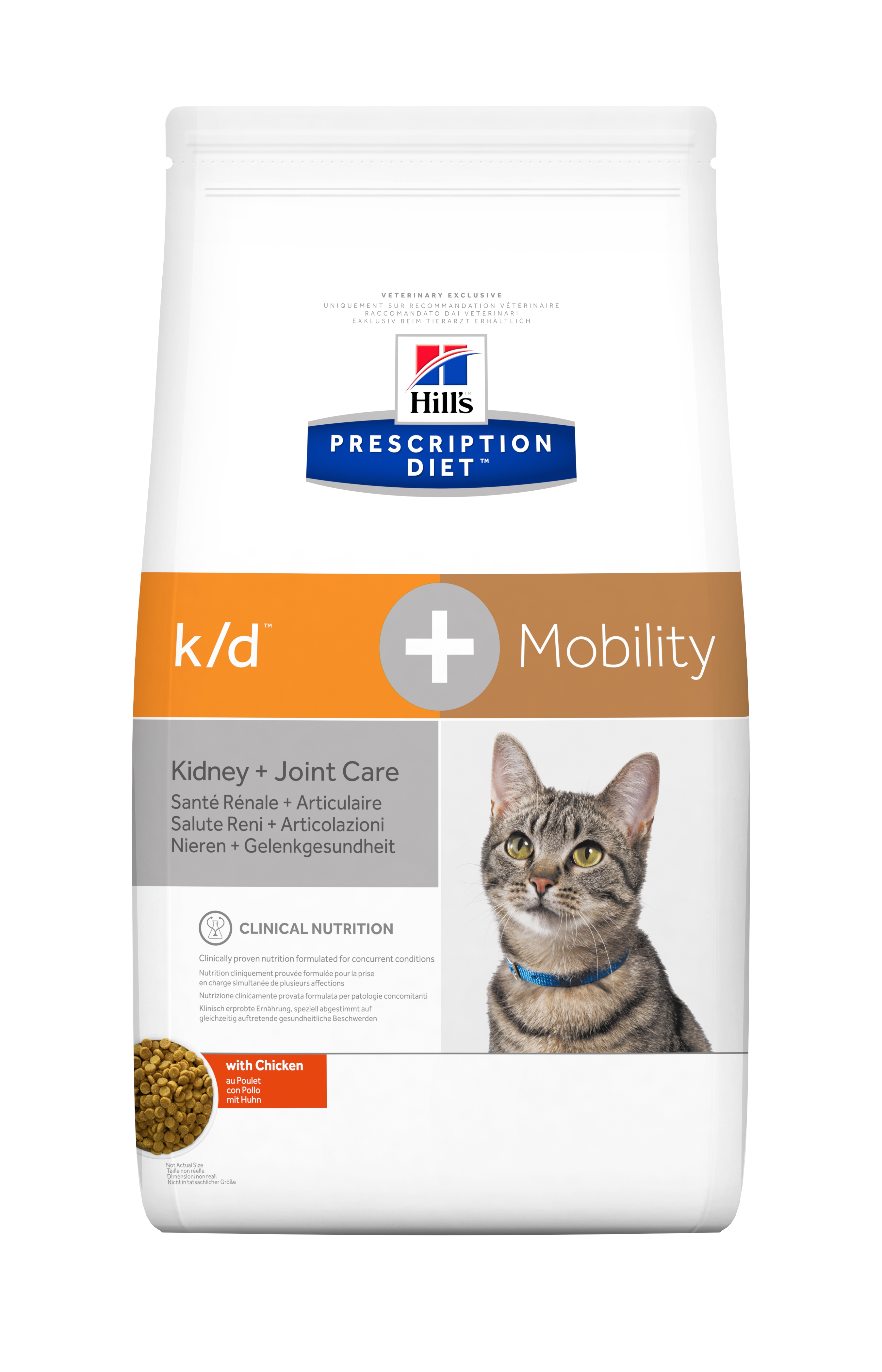 Hill's PD k/d + Mobility Kidney Care + Joint Care hrana pentru pisici, 5 kg imagine
