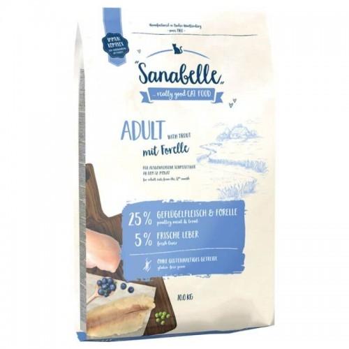 Hrana uscata pisici, Sanabelle Adult cu pastrav, 10 kg imagine