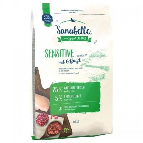 Hrana uscata pisici, Sanabelle Sensitive cu pui, 10 kg imagine