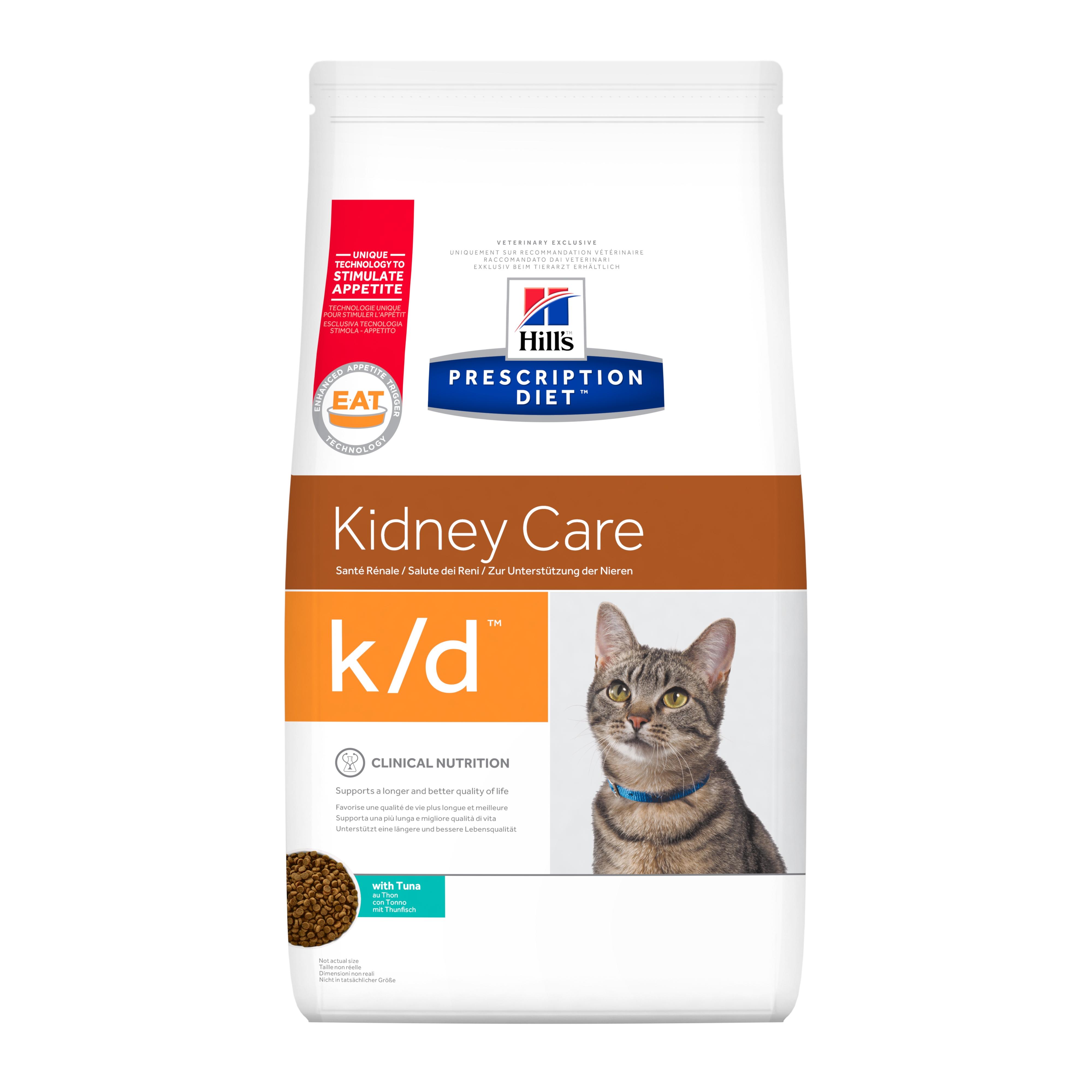 Hill's PD Feline K/D Tuna, 400 g imagine