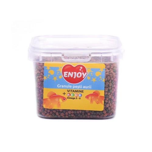 Hrana granule pesti, Enjoy Pesti Aurii, 75 gr / 225 ml imagine