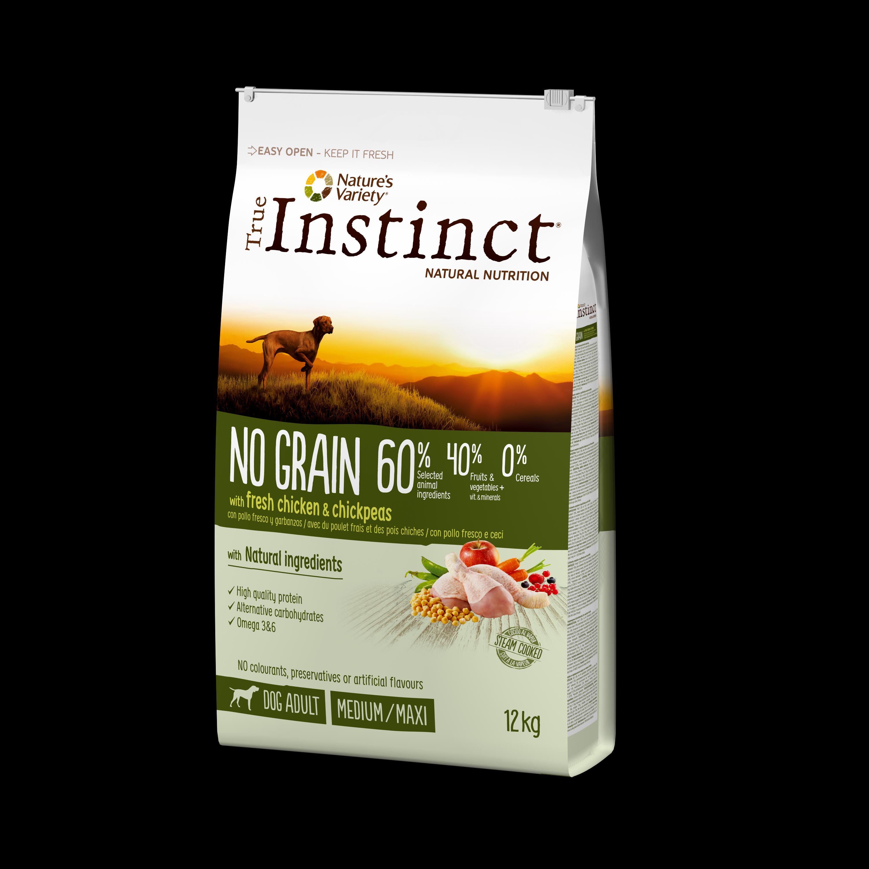 True Instinct Dog No Grain Pui & Naut, 12kg imagine
