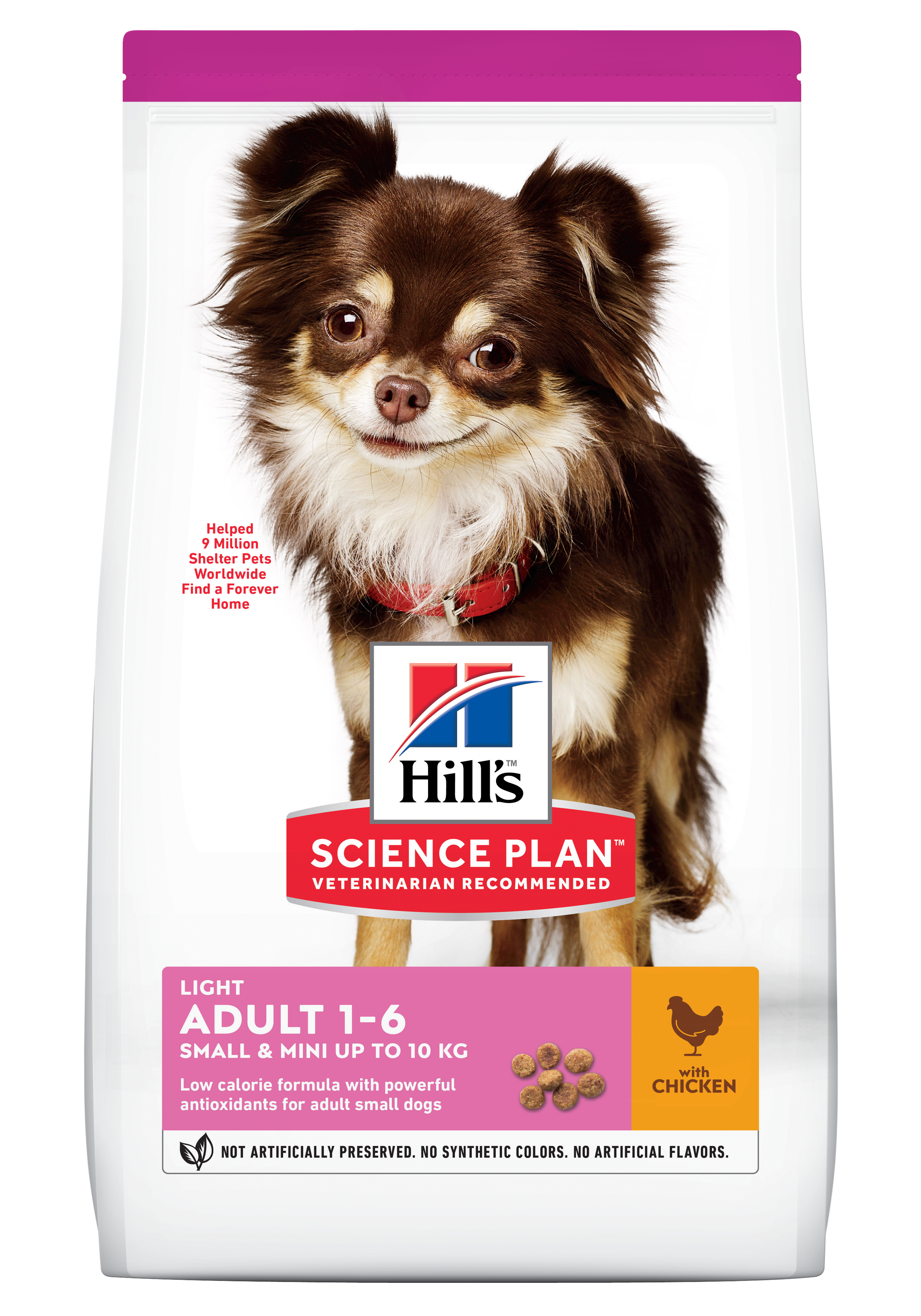 Hill's SP Adult Small and Miniature Light hrană pentru câini cu pui imagine