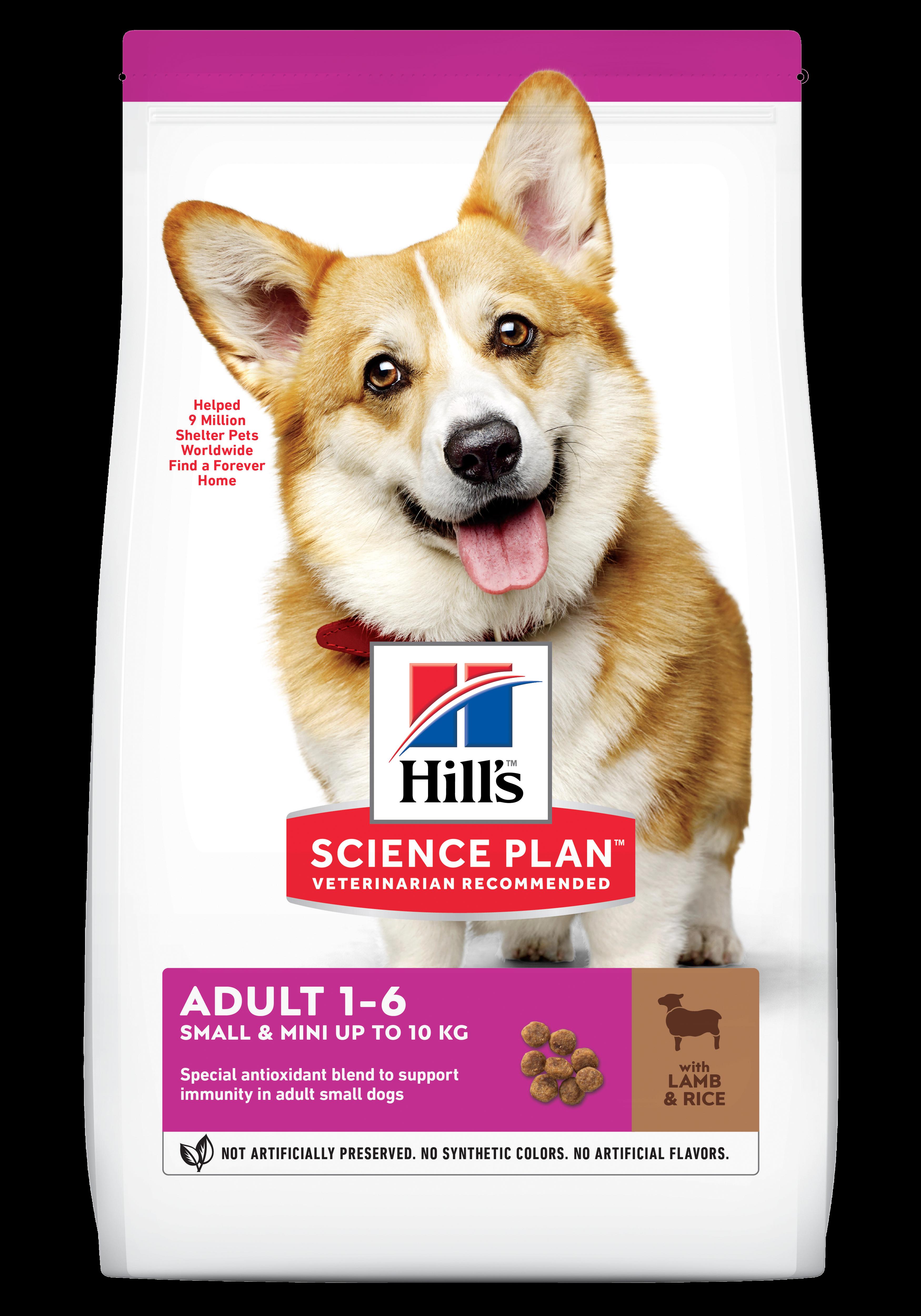 Hill's SP Adult Small and Miniature hrana pentru caini cu miel si orez imagine