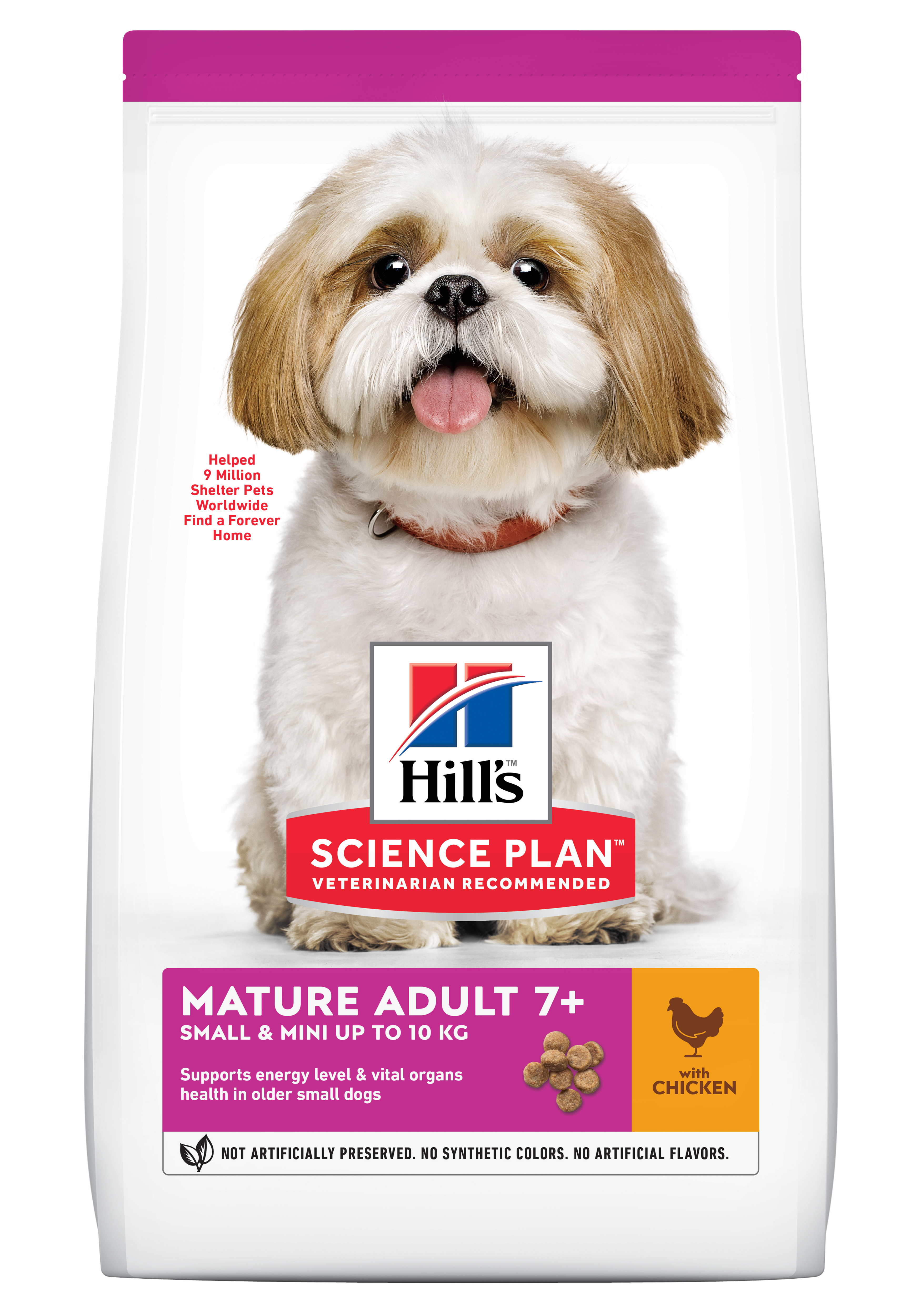 Hill's SP Mature Adult Small and Miniature hrana pentru caini cu pui imagine