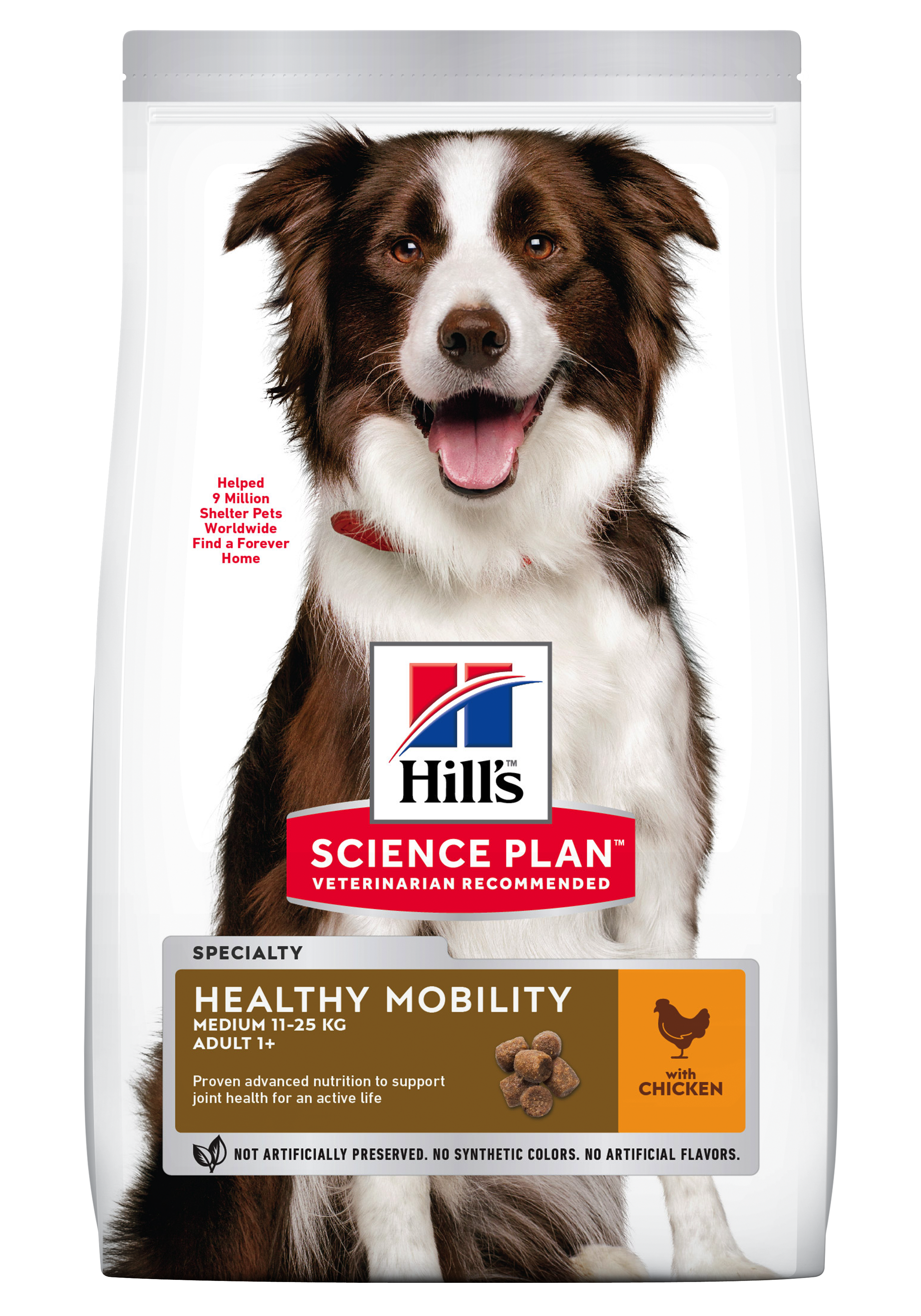 Hill's SP Adult Healthy Mobility Medium Breed hrana pentru caini, 12 kg imagine
