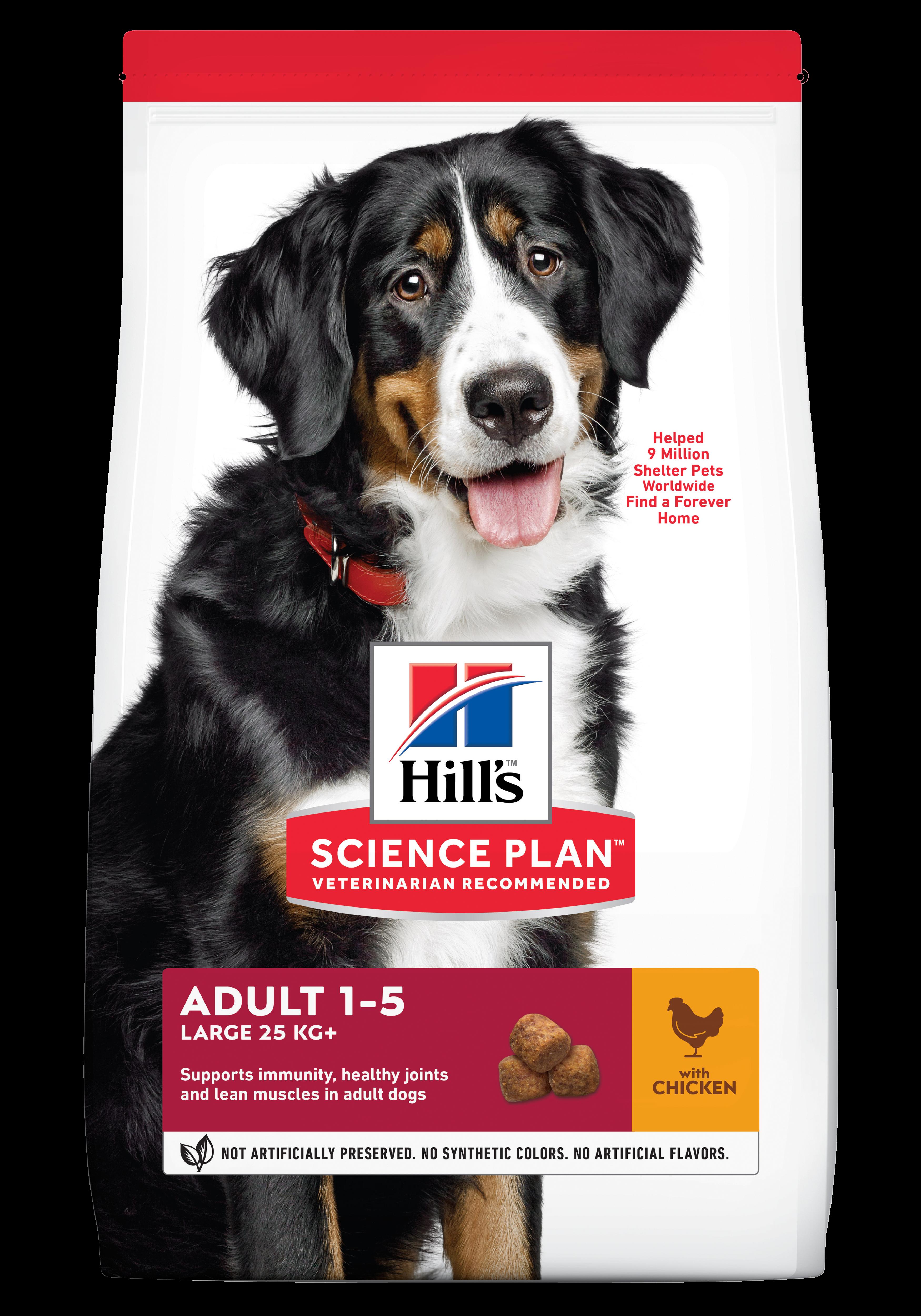 Hill's SP Adult Large Breed hrana cu pentru caini cu pui, 14 kg imagine