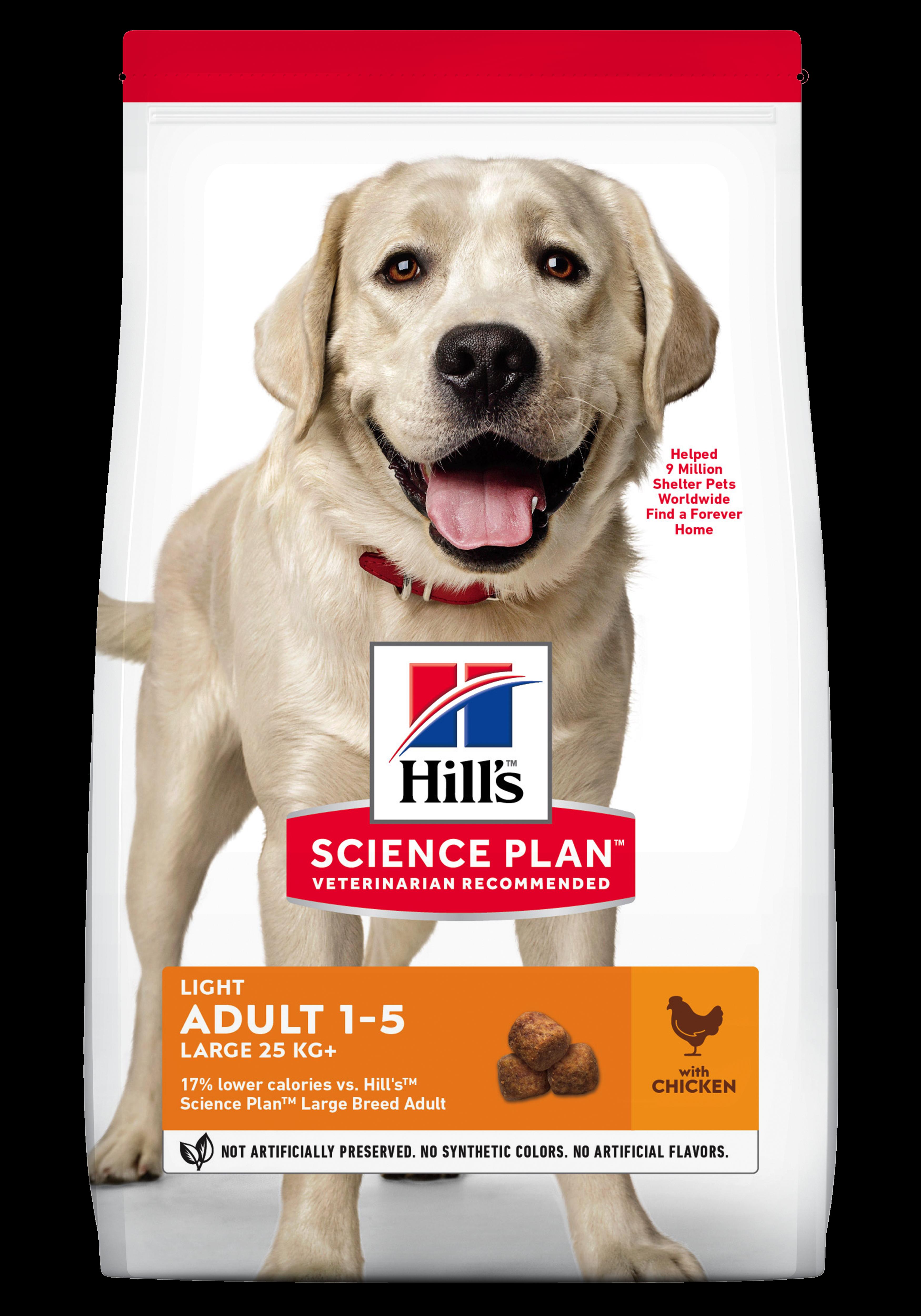Hill's SP Adult Light Large Breed hrană pentru câini cu pui imagine