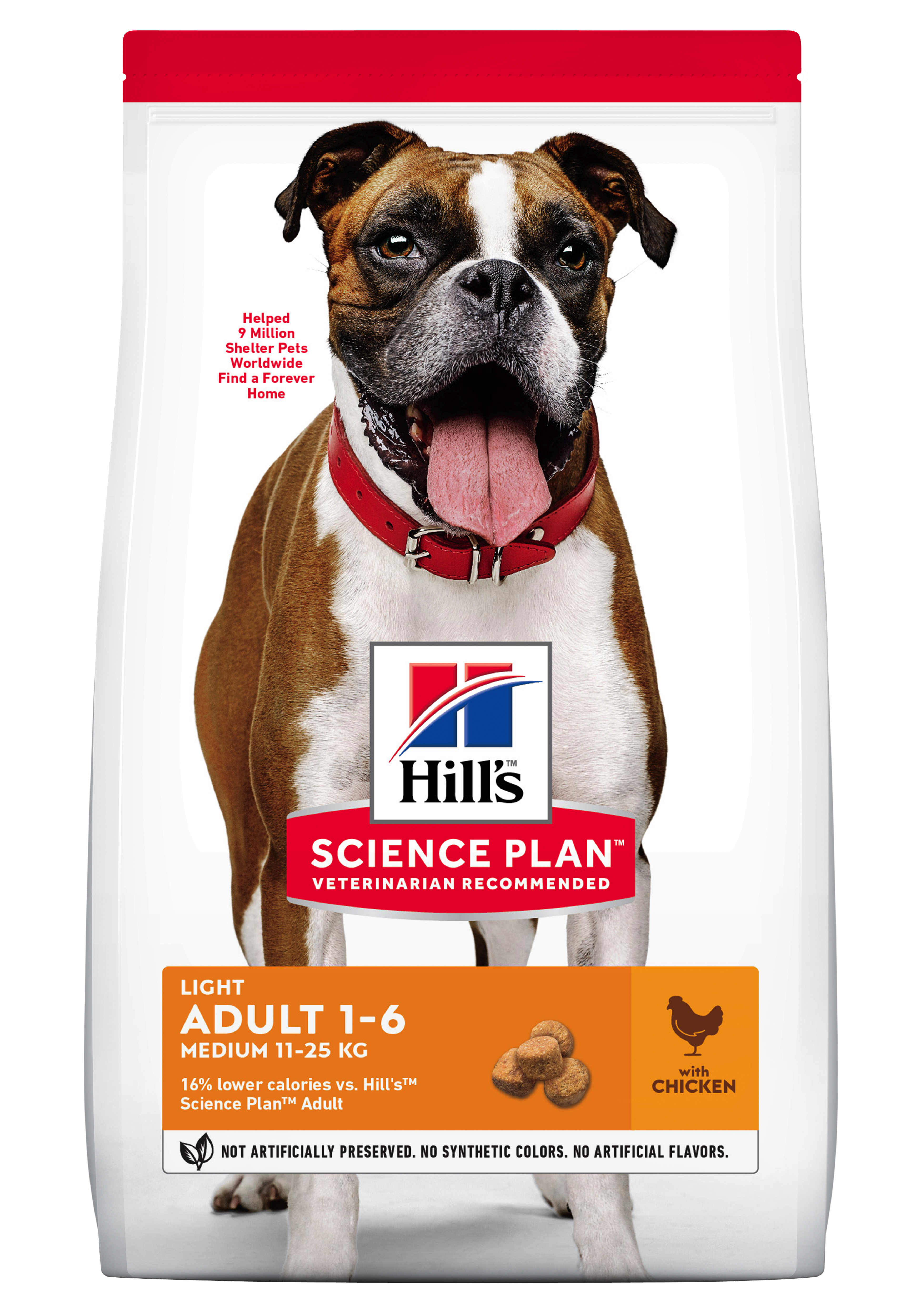Hill's SP Mature Adult Light Medium Breed hrană pentru câini cu pui imagine
