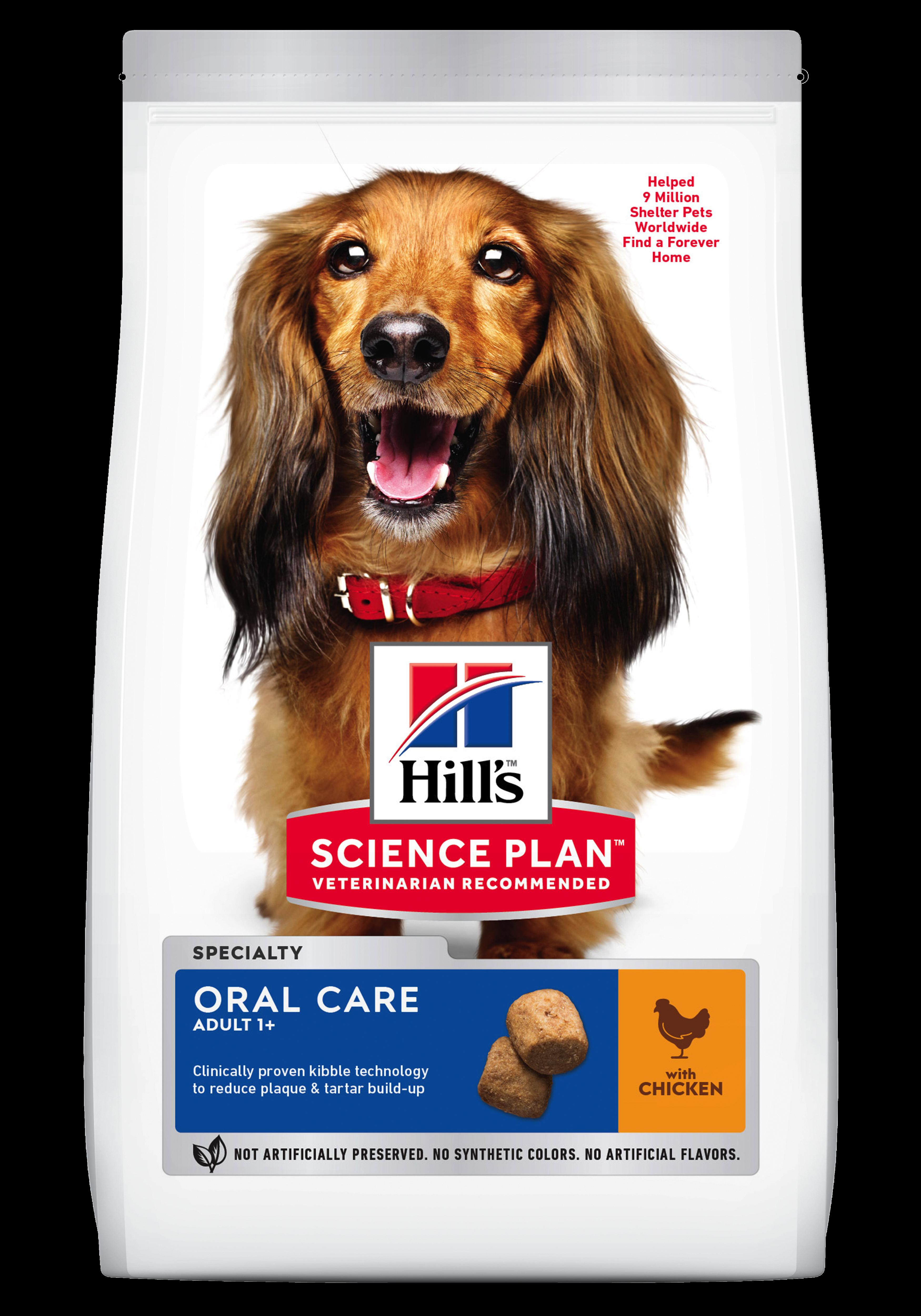 Hill's SP Adult Oral Care hrană pentru câini cu pui imagine