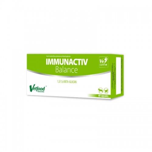 VetFood-Immunactiv Balance, 120 capsule imagine