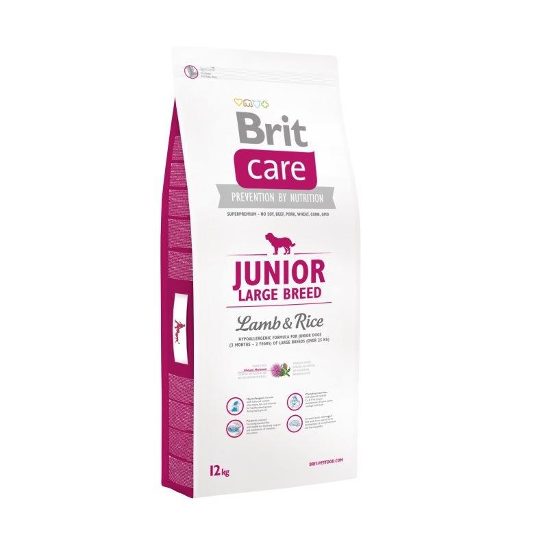 Brit Care Junior Large Breed Lamb & Rice, 12 kg imagine