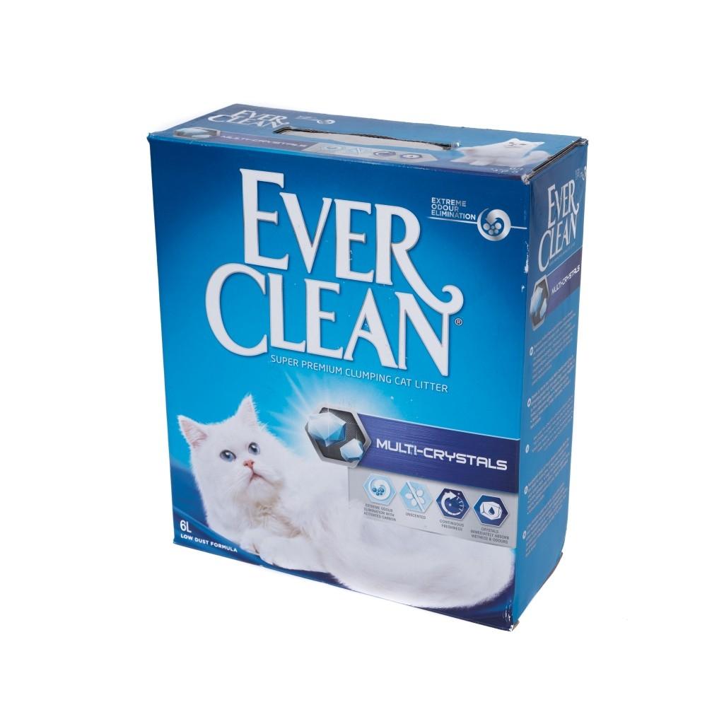 Nisip Igienic Ever Clean Multi Crystals, 6 l imagine