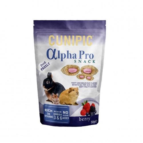 Snack cu fructe de padure, Cunipic Alpha, 50 g imagine
