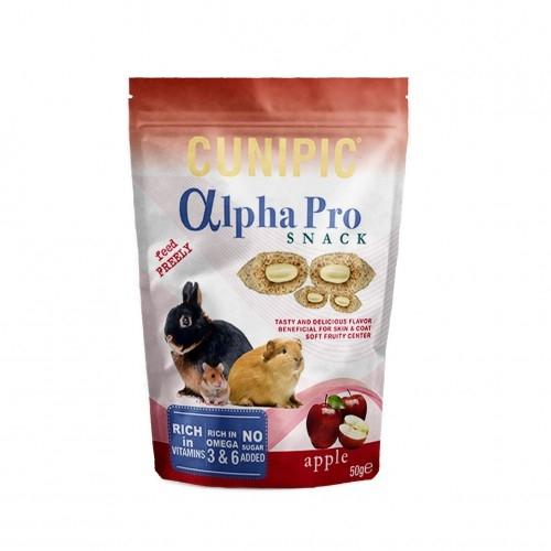 Snack cu mere, Cunipic Alpha, 50 g imagine