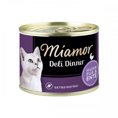 Hrana Umeda Pisici, Miamor Grain Free Cu Pui Si Rata, 175 G imagine