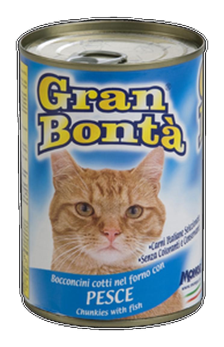 Gran Bonta Cat Cons Peste, 400 G imagine