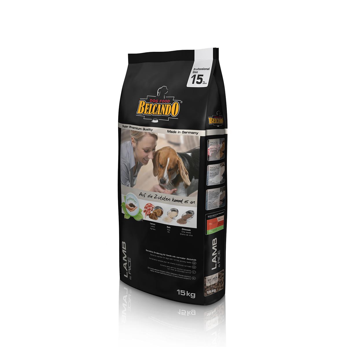 Belcando Dog Adult Lamb & Rice 15 Kg imagine