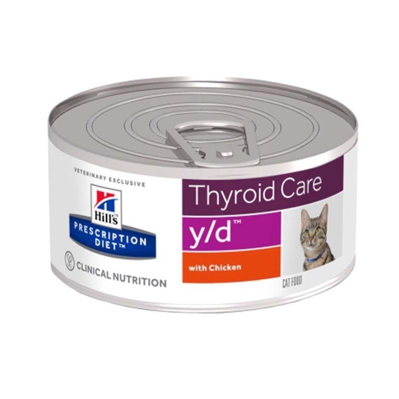 Hill's PD y/d Thyroid Care hrana pentru pisici 156 g imagine