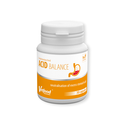 VetFood-Acid Balance, 30 capsule imagine
