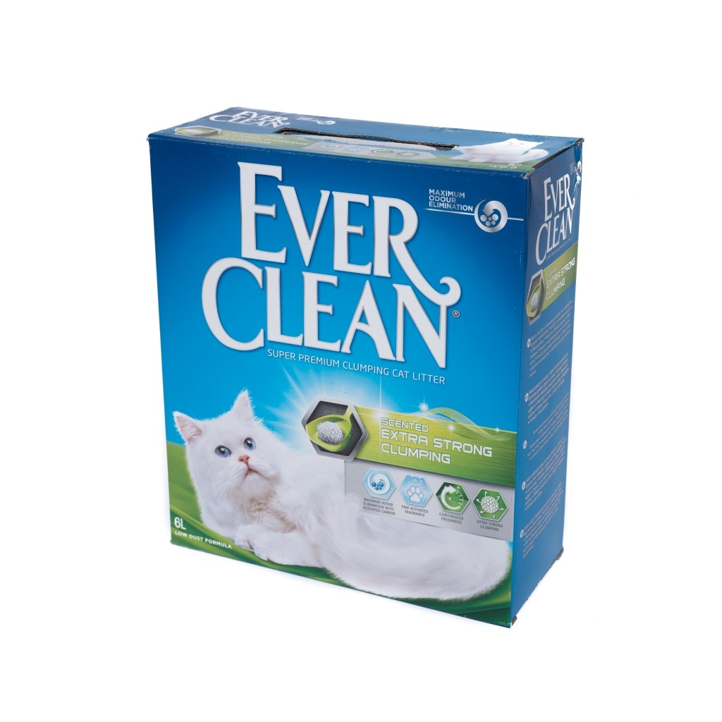 Nisip Litiera Ever Clean Extra Strong Clumping, 10 l imagine