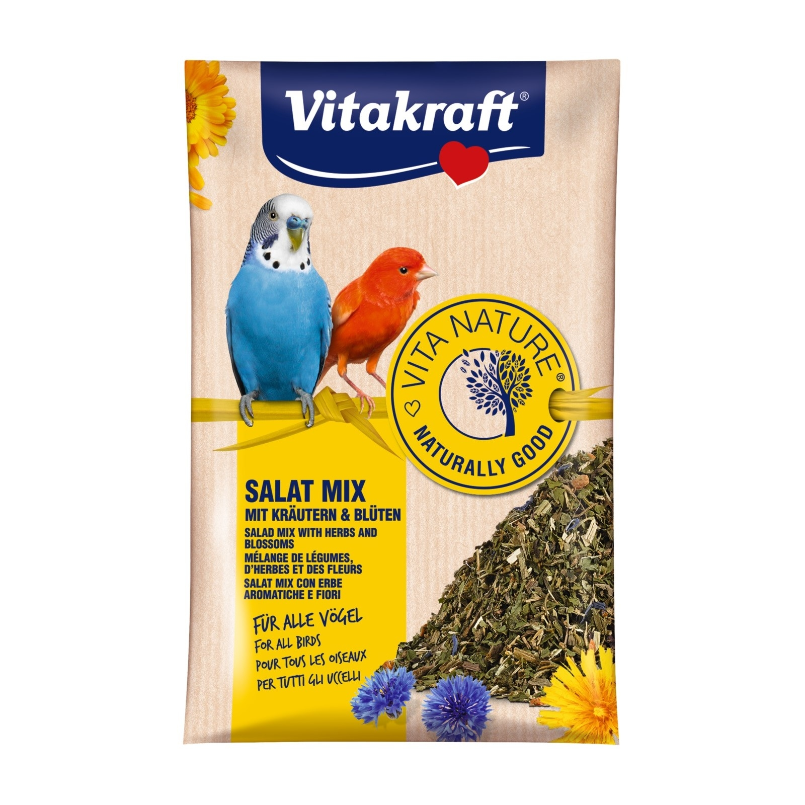 Mix pentru pasari, Vitakraft Salat Mix, 10 g imagine