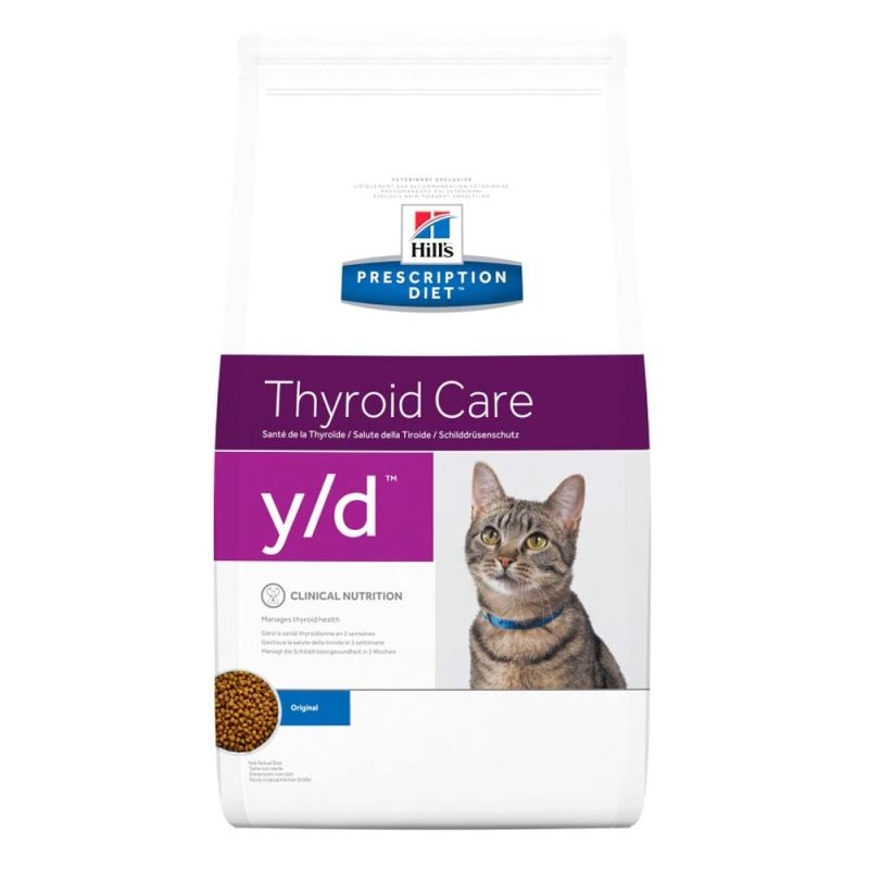 Hill's PD y/d Thyroid Care hrana pentru pisici 5 kg imagine