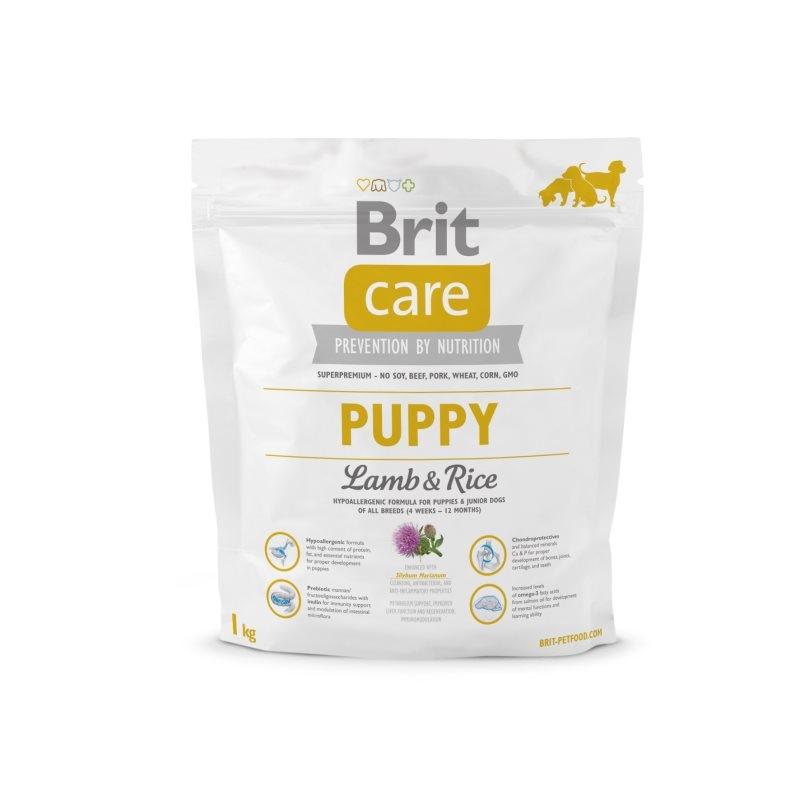 Brit Care Puppy Lamb & Rice, 1 kg imagine