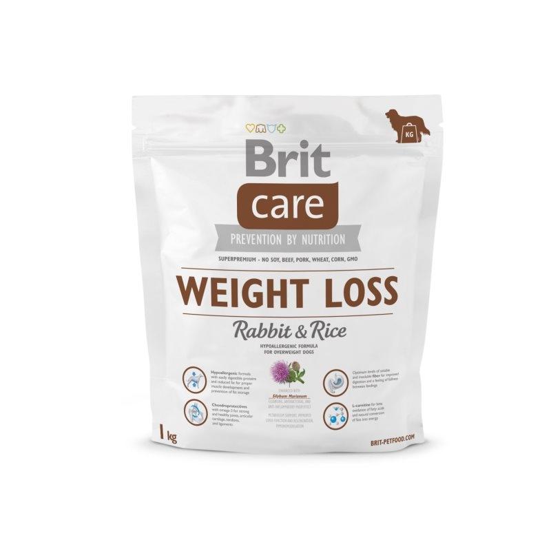 Brit Care Weight Loss Rabbit & Rice, 1 kg imagine