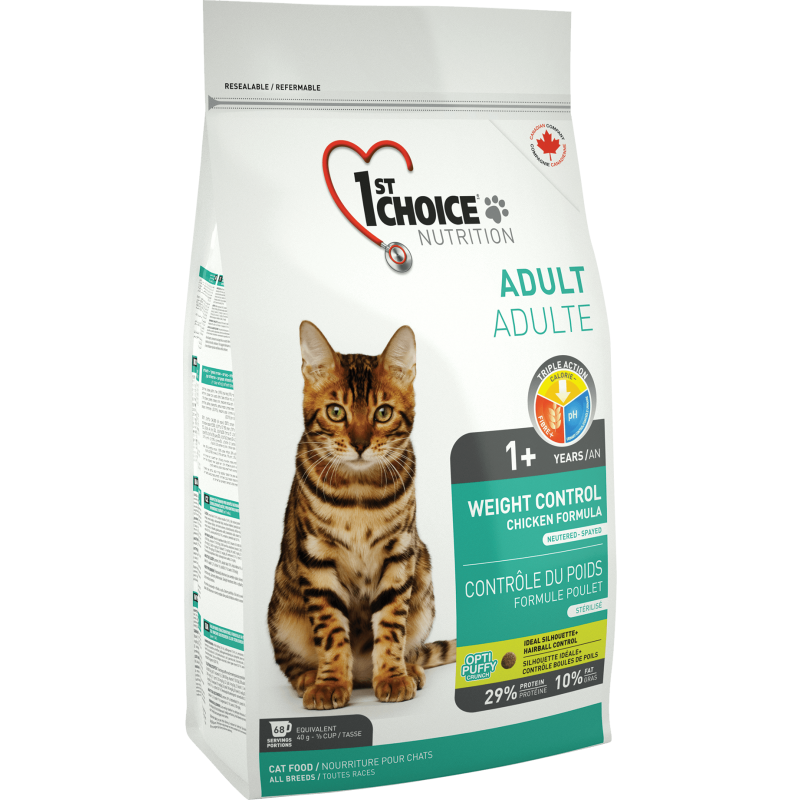 1St Choice Cat Adult Weight Control, 2.72 Kg imagine