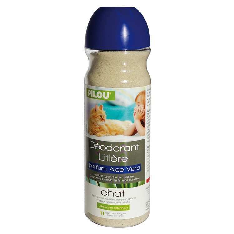 Deodorant litiera, Pilou, Aloe Vera, 750g imagine