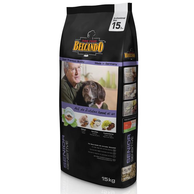 Belcando Dog Senior Sensitive 15 kg imagine