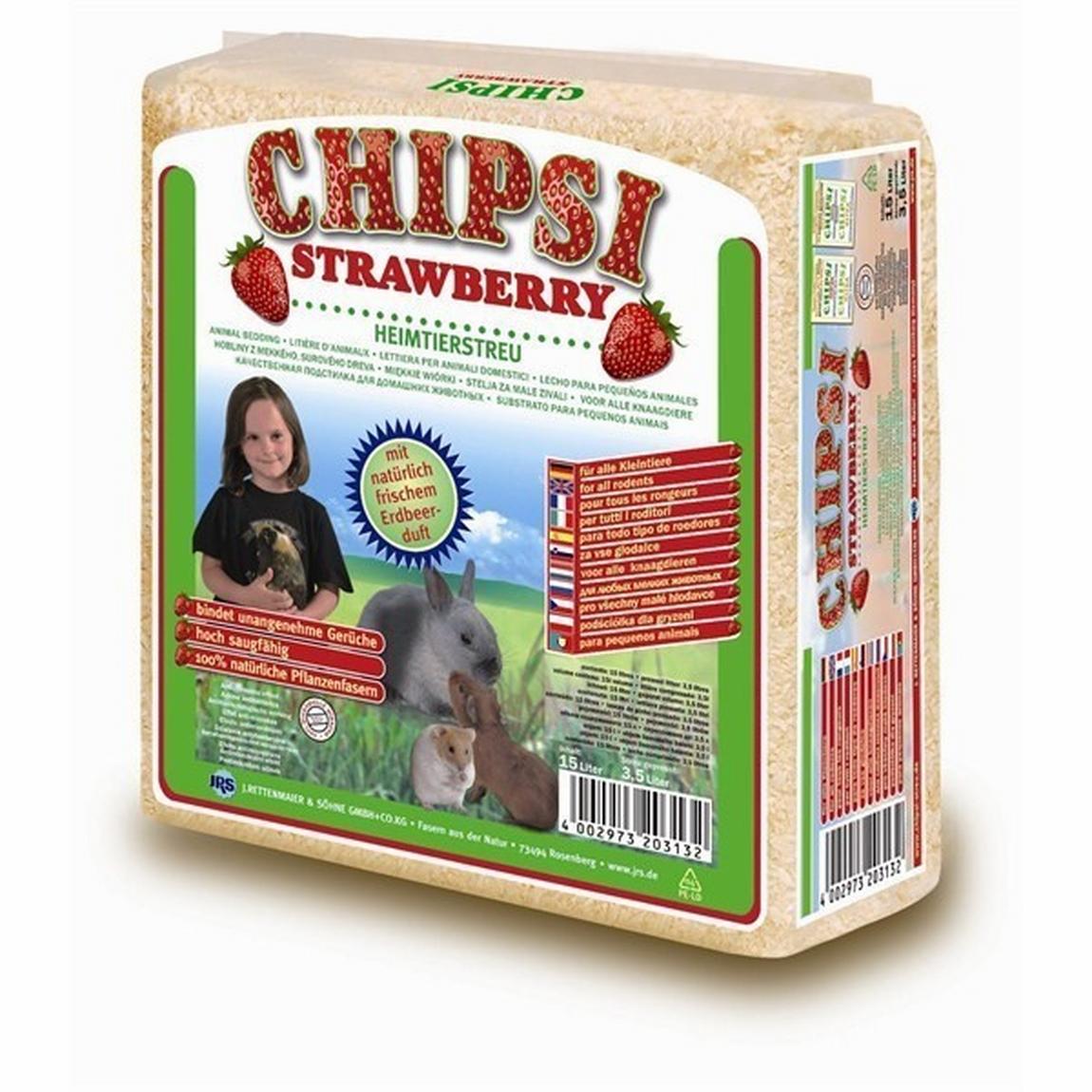 Chipsi Strawberry 15 L imagine