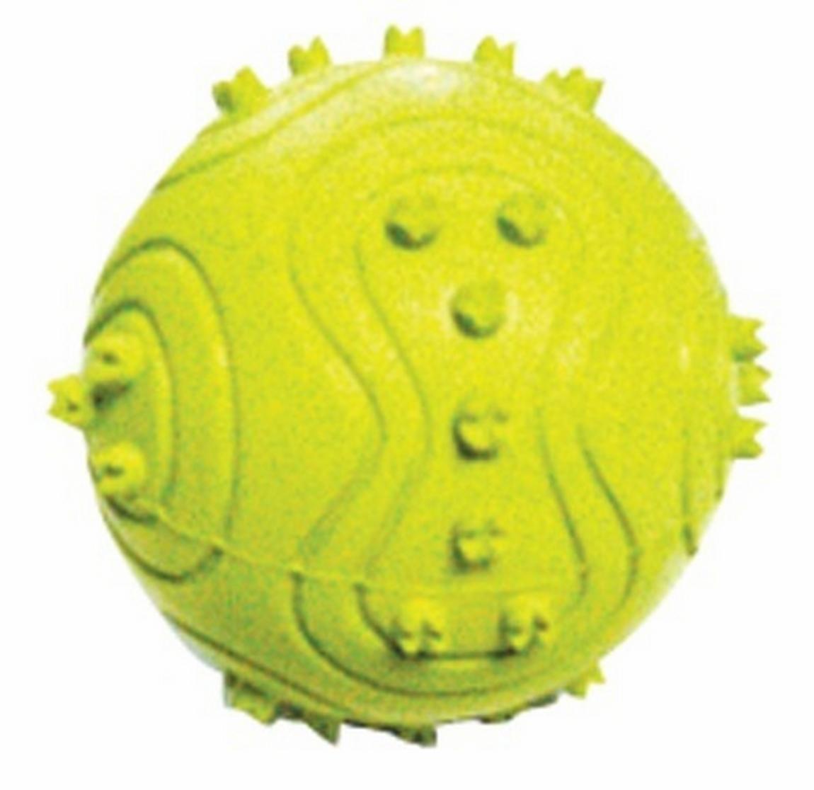 Pet Expert Jucarie Green Spike Ball Opt63851 imagine